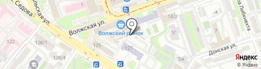 Ангарские куры на карте Иркутска