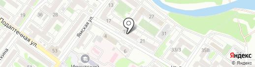 КвикПринт на карте Иркутска