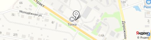 Топка на карте Малой Топки