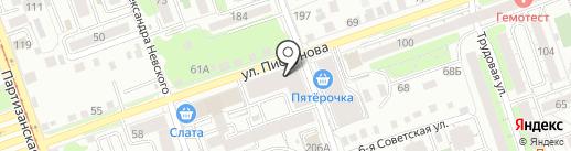 Вообрази на карте Иркутска