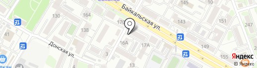 АНГАРА ЗАБОРСТРОЙ на карте Иркутска