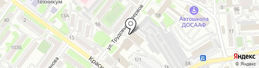 Знак Качества на карте Иркутска