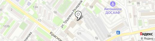 НС-ТЕХ на карте Иркутска