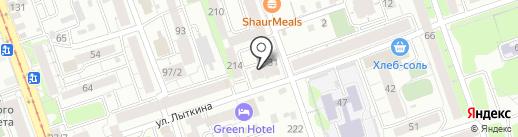Котопёс на карте Иркутска