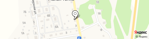 Секрет камня на карте Малой Топки
