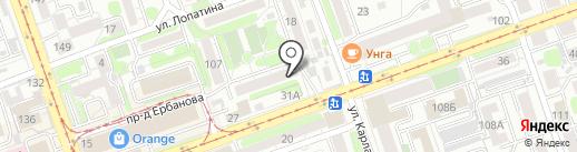 Ломбард 888 на карте Иркутска