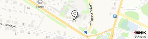 Александровский на карте Малой Топки