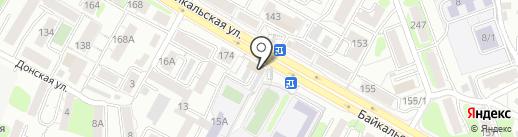 Пепперони на карте Иркутска