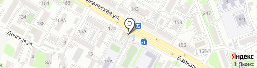 District38 на карте Иркутска