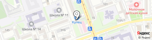 Lemoda на карте Иркутска