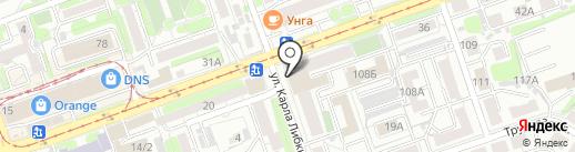 1-я Бухгалтерская компания на карте Иркутска