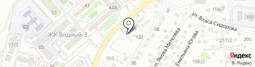 Топкинский на карте Иркутска