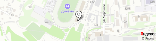 Автентичные бани на карте Иркутска