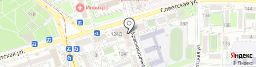 Ваш выбор на карте Иркутска