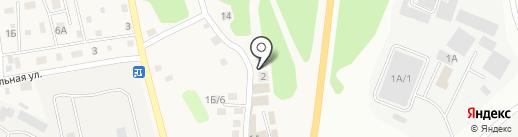 Пансионат Святой Милицы на карте Малой Топки