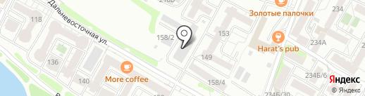 Компания по заказу автовышки на карте Иркутска