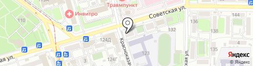 КанцелярЪ на карте Иркутска