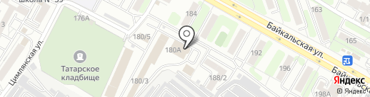 ЕвроПартнер на карте Иркутска
