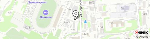 Доброе на карте Иркутска