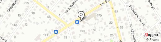 Автомагазин на карте Иркутска