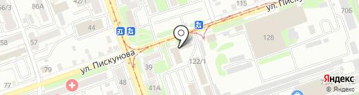 Масштаб на карте Иркутска