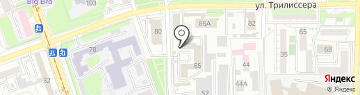 Аутсорсинг на карте Иркутска