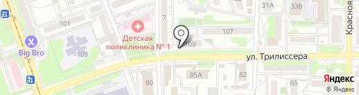 Brosmeister на карте Иркутска