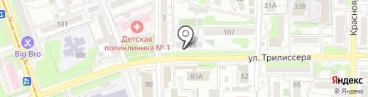 TeaRose на карте Иркутска