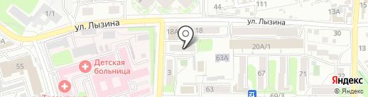 ГрандФасад на карте Иркутска