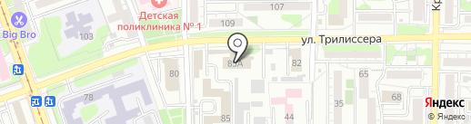 АвАнтАж на карте Иркутска