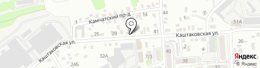 Авилон на карте Иркутска