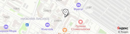 Робинзон и Пятница на карте Иркутска