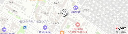 Pivbar на карте Иркутска
