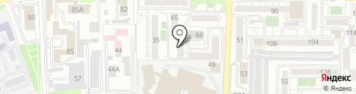 Абсолют+ на карте Иркутска