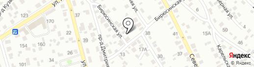 Самстрой на карте Иркутска