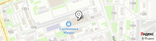 ВестХаус на карте Иркутска