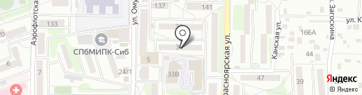 Irkshop.ru на карте Иркутска