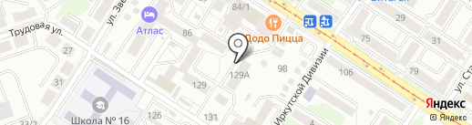 Палитра вкуса на карте Иркутска