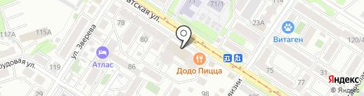 Casual на карте Иркутска