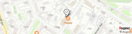 Авис на карте Иркутска
