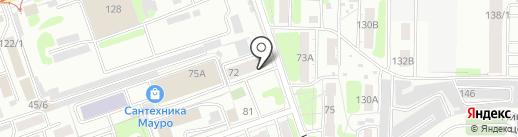 Баллисаргон на карте Иркутска