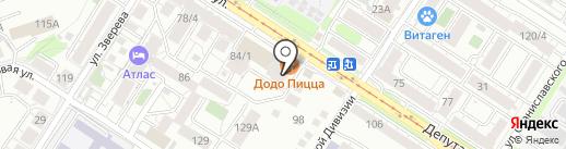 Чистый на карте Иркутска