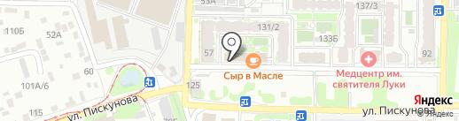 PaRkovkA na VysotE на карте Иркутска