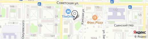 Центр Списания Долгов на карте Иркутска