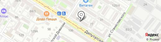 Альфатон на карте Иркутска