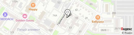 Авакс+ на карте Иркутска