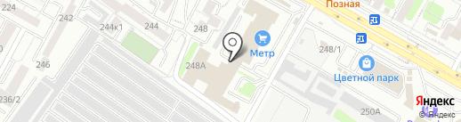 ОПС-Иркутск на карте Иркутска