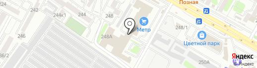 АВЕНИДА на карте Иркутска