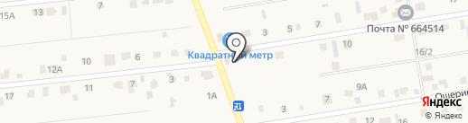 Простор на карте Хомутово