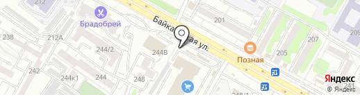 Мастерская по заточке цепей на карте Иркутска